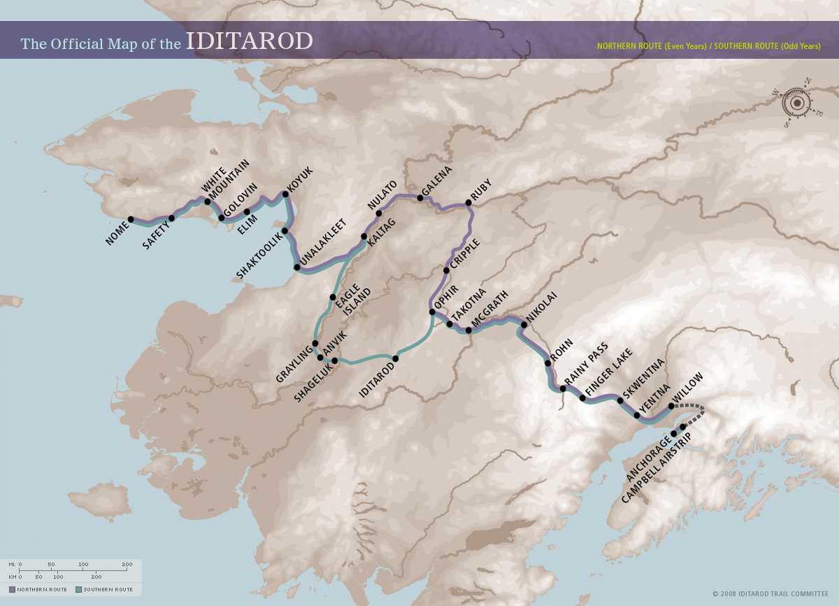 The Iditarod Trail
